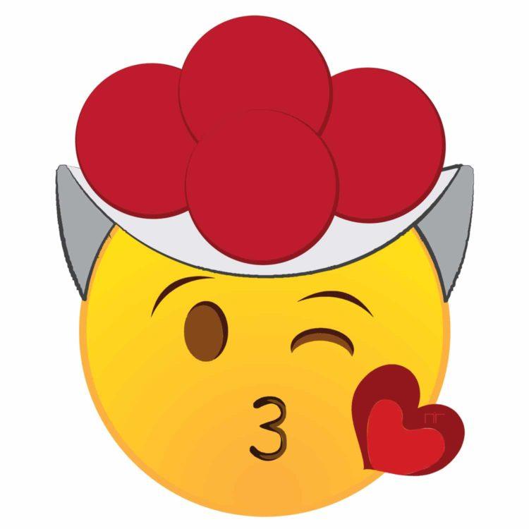 Schwarzwald Gifs & Sticker, Bollenhut Emoji